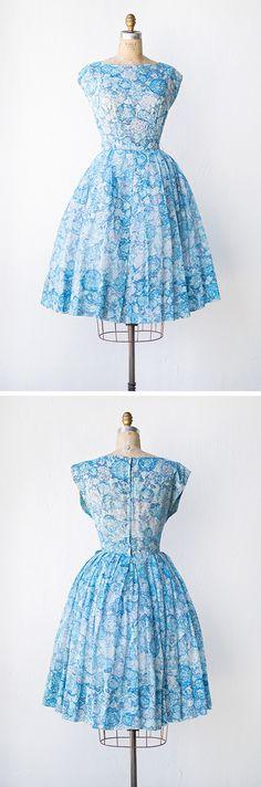vintage 1950s dress | Lakeside Leisure Dress