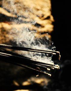 Incense Smoke | through lens