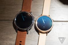 Motorola's new Moto 360 watches are sleeker, smarter, and more customizable than ever | The Verge