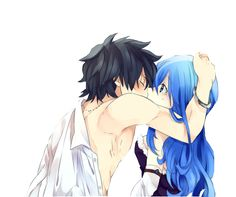 Gray and Juvia *Fairy Tail*