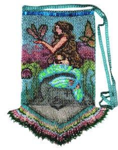 Mermaid Hand Bag : Beading Patterns and kits by Dragon!, The art of beading.