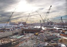 Boston, Massachusetts: The so-called Big Dig is a massive tunneling project in the heart of Boston, and is the most massive and expensive construction project in the history of the United States (at 15 billion dollars).