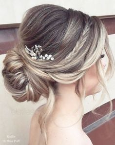 Long Wedding Hairstyles from Elstile \/