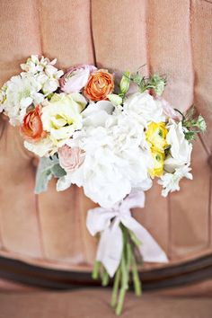 love the shape & color of this bouquet, what do you think Holly?