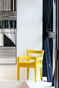 Baltus in Color Dining Chairs, Projects To Try, Furniture, Louvre, Ideas, Home Decor, Collection, Pop Of Color, Spaces