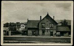 Hedmark fylke TYNSET STASJON Rørosbanen, forfra 1926. Utg Normann Brukt 1928