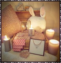 Colis H&M HOME reçu  #h&mhome #bougie #h&m #pink #rabbits #cadre #coussin #lapin #france #normandie #cotentin