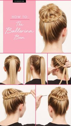 diy step by step hairstyles for beginners - Google Search