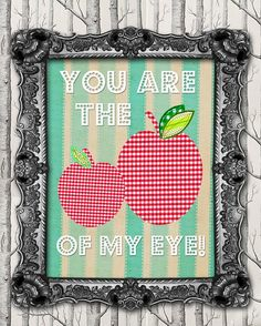 Apple of my eye   For My grandson Tyler and my granddaughter Amber.