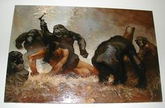Tarzan, Painting, Art, Art Background, Painting Art, Kunst, Paintings, Performing Arts, Painted Canvas