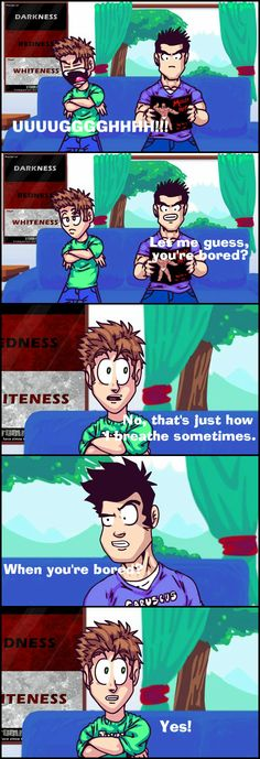 Tobuscus Animated Adventures. These videos are great! I've literally memorized entire conversations word for word from these videos.