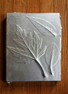Foil leaf impression