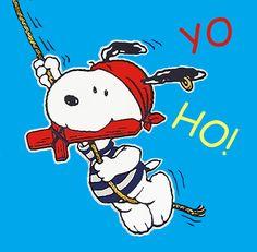 Pirate Snoopy #iLuv #iLuvSnoopy                                                                                                                                                                                 Más