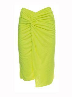 Burda pattern twist skirt pattern
