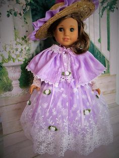 Spring Promenade Gown for American Girl Doll