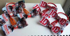 1d matchin bobbles and clips