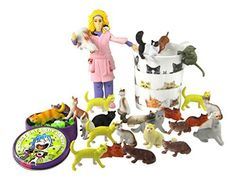 Crazy Cat Lady Starter Kit - A fun gag gift for any lady who REALLY loves cats!