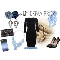 My Dream Prom by grabacoffee on Polyvore featuring Diane Von Furstenberg, Kendra Scott, Feather & Stone and Tie-Ups