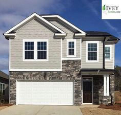Ivey homes are beautiful inside and out!   #iveyhomes #exterior #newhome #design #home Ivey Homes is a local Augusta GA home builder. Homes from the Low $100's to custom.