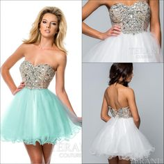 Shining Sweetheart Neckline Short Cocktail Party Dresses Beaded Tulle Sleeveless Mini A-line Lace Up Lovely Homecoming Dress 2015 Hot Sale Online with $99.18/Piece on Marrysa's Store | DHgate.com