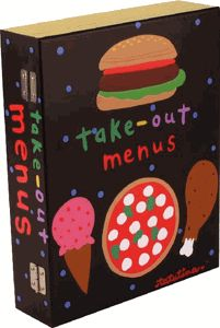 Take Out Menu Box - Everyone will love this wooden Take Out Menu Box that will help organize your kitchen.