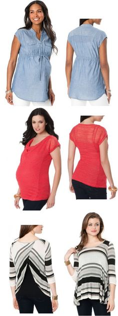 Maternity Dresses to Wear During Pregnancy - Baby Bump Fashion Maternity Wear, Maternity Fashion, Maternity Dresses, Baby Bump Style, Mom Style, Diy Clothing, Sewing Clothes, Pregnancy Looks, Couture Sewing