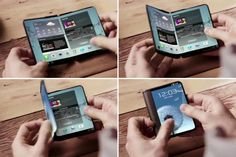 Samsung is getting ready to release the world's first ever true foldable smartphone in its Galaxy X, and it looks set to arrive soon. We were expecting the Galaxy X to land in 2019 but then Galaxy Note, Galaxy S7, New Samsung Galaxy, Samsung Handy, Smartphone Samsung, Samsung Device, Smartphone Display, Back In The Game, La Galaxy