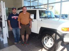 Congratulations To John Burmester On His Brand New 2013 FJ Cruiser! Have  Fun And Welcome