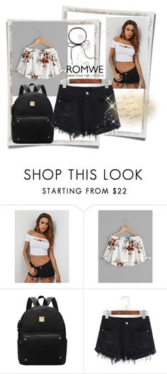 """Romwe summer"" by jasmin-ba ❤ liked on Polyvore"