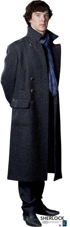 BBC's Sherlock Sherlock Holmes Cardboard Standup