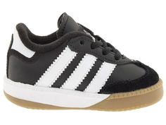 adidas Kids Samba(r) Millennium Core (Infant/Toddler) Kids Shoes Black/Running White
