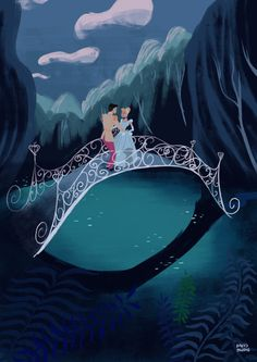 The Art Of Animation, David Pavón Benítez Disney Amor, Film Disney, Cinderella Disney, Arte Disney, Disney Fan Art, Disney Love, Disney Pixar, Disney Magic, Disney Characters
