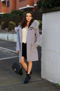 azure coat outfit fashion blogger