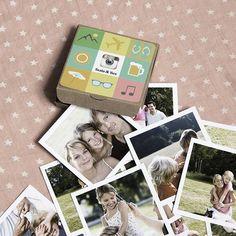 Regalar fotos es regalar recuerdos, regalar momentos compartidos, regalar sonrisas aseguradas. Nuestra cajita Insta&Box guarda en su interior todos tus momentos más expeciales...