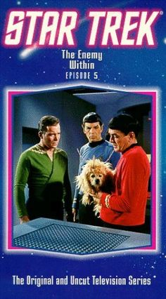 """1966 Star Trek: The Original Series episode """"The Enemy Within"""" - written by Richard Matheson, an amazing author."""