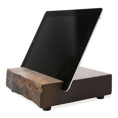 Wood iPad stand by Block