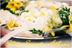 TRUE WEDDINGS | A Lemon Wedding by Elite Events Athens | Anca & Konstantinos | Wedding Tales - Ο γάμος των ονείρων σας! Rainbow Wedding, Lemon Yellow, Weddings, Table Decorations, Sweet, Candy, Wedding, Marriage, Dinner Table Decorations