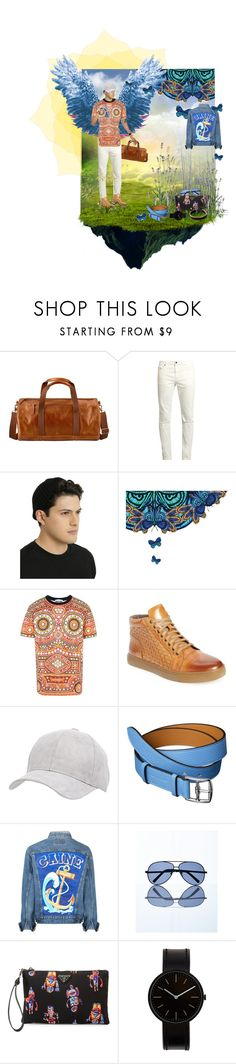 """""""Unbenannt #350"""" by eveangeline ❤ liked on Polyvore featuring Timberland, Yves Saint Laurent, Moschino, Zanzara, Charlotte Russe, Express, Prada, Uniform Wares, Vitaly and men's fashion"""
