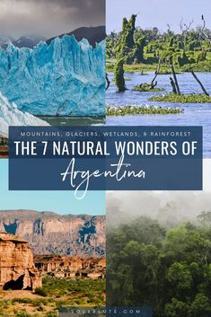 Discover the official 7 natural wonders of Argentina, Where to go in Argentina to see the 7 Argentine Natural Wonders, Visit Argentina, Argentina Travel, Peru Travel, Hawaii Travel, Usa Travel, Italy Travel, Machu Picchu, Patagonia, 7 Natural Wonders