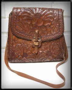 yum..vtg tooled leather