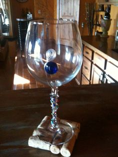 wirEd wine glasses