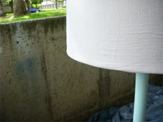 Shrimp Salad Circus: how to-sday . lampshade recover