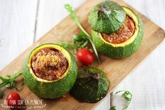 Zucchini Avocado Egg, Zucchini, Food Photography, Drink, Vegetables, Breakfast, Stuffed Zucchini, Meat, Fish