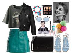 """Без названия #872"" by diana1717 ❤ liked on Polyvore featuring Prada, Yves Saint Laurent, Christian Dior, Maybelline and MAC Cosmetics"