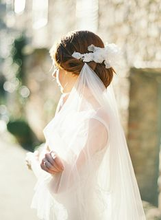 Chapel Veil, Wedding Veils, Bridal Flowers, Wedding Hair Accessories, Bridal Headpieces, Wedding Hairstyles, Flower Girl Dresses, Tulle, Pearl Headpiece