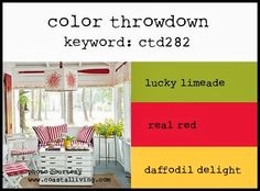 Color Throwdown: March 2014