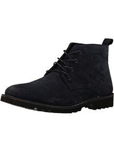 Kenneth Cole New York Men's Lug-Xury Boot, Navy, 9 M US ❤ Kenneth Cole New York
