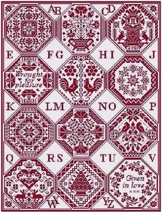 Quaker's Dozen - Cross Stitch Pattern. I've ordered many times from this vendor- very reliable!