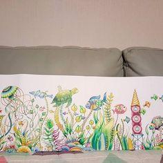 ✔2016.2.19 로스트오션 [ No.9 ] 드뎌, 본 채색 마무리.. 이제 바탕 돌입.. ➡Still in progress. . It started the final stage #로스트오션 #LOSTOCEAN #조해너배스포드 #JohannaBasford #컬러링북 #ColoringBook #ColoringArt #colouring #mycreativeescape #카렌다쉬파블로색연필 #CarandachePabloColorPencil #Carandache #파버카스텔폴리크로모스색연필 #FabercastellPolychromosColorPencil #Fabercastell #polychromos #jardimsecreto #책스타그램 #취미 #소통 #일상 #힐링 #Healing