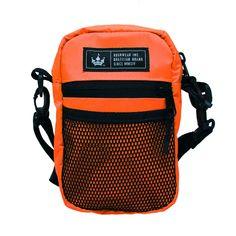 Shoulder Bag Média Hoshwear Neon Laranja - Hoshwear Inc. Medium Bags, Fashion Backpack, Backpacks, Shoulder Bags, How To Wear, Products, Cotton Tote Bags, Neon Colors, Orange Color